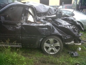 Danny Briere, along with his song, Cameron, were involved in a car accident early Thursday morning. (NBC Philadelphia)