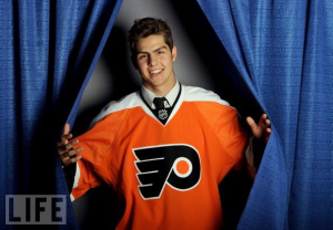 Michael Chaput became the first draft pick of the Philadelphia Flyers in 2010. (LIFE)