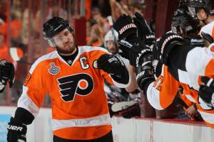 Mike Richards heads the list of top five salaries on the Philadelphia Flyers. (Jim McIsaac/Getty Images)