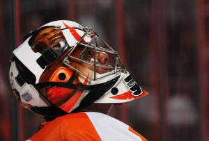 Ray Emery is one of several Philadelphia Flyers who face free agency this summer. (Al Bello/Getty Images)