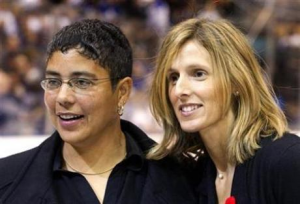 Angela James and Cammi Granato became the first women inducted into the Hockey Hall of Fame. (Reuters.com)