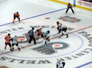 The Adirondack Phantoms returned to play a game in Philadelphia, the place they called home from 1996-2009. (Candice Monhollan)