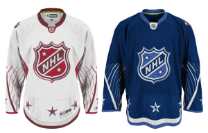 With the naming of the roster also came the unveiling of this year's All-Star jerseys. (NHL)