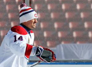 Tomas Plekanec leads the Montreal Canadiens in points and is second in goals and assists. (Andre Ringuette/Getty Images)