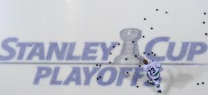 Alexander Edler scored his first goal of the series Thursday night. (John Russell/NHLI)