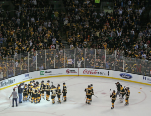 The Boston Bruins got their revenge after sweeping the Philadelphia Flyers. (Bruce Bennett/Getty Images)