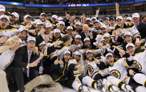 The 2011 Stanley Cup Champion Boston Bruins. (Bruce Bennett/Getty Images)