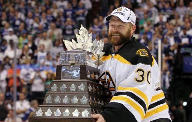 Tim Thomas made the most of a rebound year by winning the Stanley Cup and Conn Smythe. (Bruce Bennett/Getty Images)