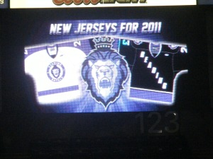 The new jerseys for the Royals for the 2011-12 season. (Candice Monhollan)