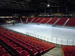 The rink where Team USA defeated the Soviet Union and won the gold medal over Finland in 1980. (Candice Monhollan)