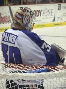 Joe Palmer has allowed three goals or less in his last four games. (Alyssa Benson)