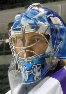 Jussi Rynnas made 37 saves for his first shutout with the Reading Royals. (Candice Monhollan)