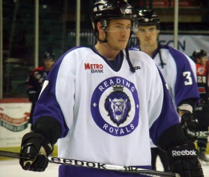 Denny Urban's power-play goal was his 20th point on the power play this season (3G, 17A). (Mike Ashmore)
