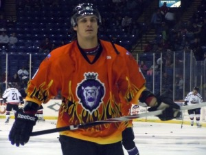 Yannick Tifu becomes the new captain of the Reading Royals after Ryan Cruthers was traded. (Candice Monhollan)