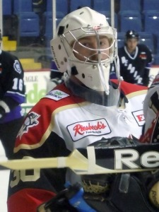 Nick Niedert finished out the regular season with the Wheeling Nailers. (Candice Monhollan)