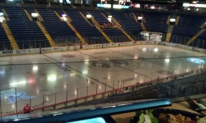 All is now quiet inside the Sovereign Center as the 2011-12 season has come to an end for the Royals. (Candice Monhollan)