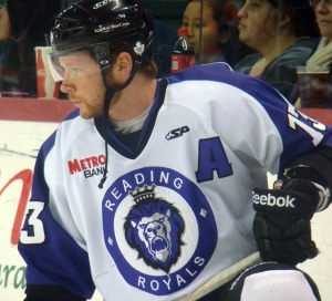 Olivier Labelle is poised to lead the Royals in goals this season. (Mike Ashmore)