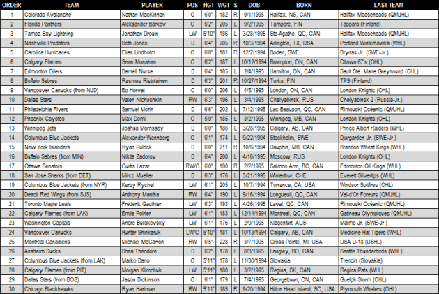 2013_NHL_Draft_Round_1