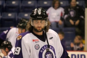 Alex Berry scored four of his five goals this postseason in the Conference Finals against the Cincinnati Cyclones. (Candice Monhollan)