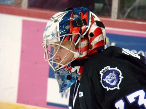 Goaltender Brandon Anderson is in his first year of pro with the Reading Royals. (Mike Ashmore)