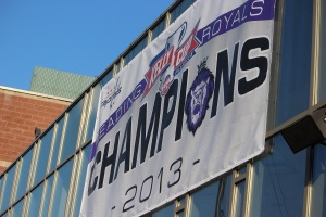 The Reading Royals will raise their championship banner on Oct. 19. (Candice Monhollan)
