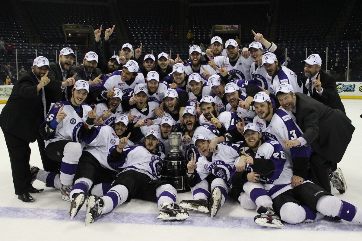 echl: reading royals clinch kelly cup with dominant win in game 5