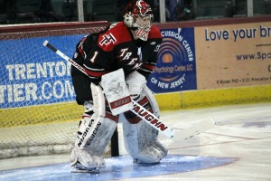 Scott Wedgewood spent the majority of his first pro season with the Trenton Titans. (Candice Monhollan)