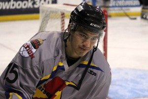 Shane Harper has an average of 1.12 points per game in the ECHL. (Candice Monhollan)