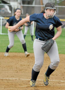 Spring-Ford ace pitcher Haleigh Williams makes a delivery. (Barry Taglieber)