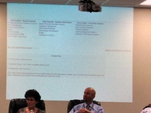 The Unionville-Chadds Ford School District School Board met to discuss class sizes. (Candice Monhollan)