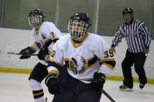 Senior forward John Kumpf recorded two goals on the night to give him eight in six games. (Candice Monhollan)