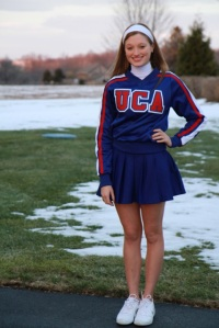 Kennett sophomore Alli Buley is heading to London to participate in the New Year's parade with 500 other cheerleaders. (Deneen Buley)