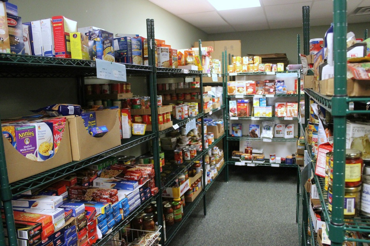 Kennett Food Cupboard Seeing Constant Increase In Families
