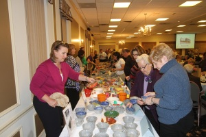 This year's Empty Bowls Dinner will take place on Feb. 20 at the Red Clay Room in Kennett Square. (Melanie Weiler)