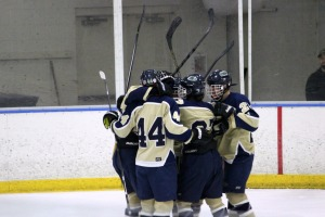 Three goals in 29 seconds sparked  a win for W.C. Bayard Rustin over Unionville Friday night. (Candice Monhollan)