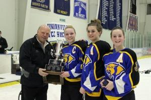 Downingtown East captain Katie Stueve scored four goals en route to the Flyers Cup Championship. (Candice Monhollan)