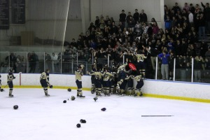 West Chester Bayard Rustin won its fourth Flyers Cup in six years Wednesday night. (Candice Monhollan)