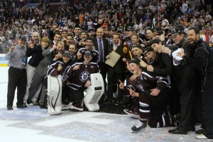 Union College brings home its first National Title in its 23-year history. (Candice Monhollan)