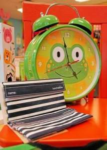 A frog clock that makes frog noises when the alarm goes off, along with black-and-white reusable sandwich bags called Lunchskins are favorites at bedbugzz..., a children's store in Kennett Square. Bedbugzz and Scout & Annie Vintage Homegoods, both in Kennett Square, won Best of Philly awards from Philadelphia Magazine. (Daily Local News)