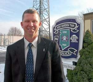 New Garden Police Chief Jerry Simpson. (Daily Local News)