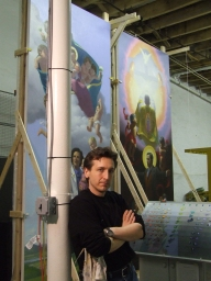Neilson Carlin, who owns Studio Rilievo School of Classical Painting in Kennett Square, will create an oil painting for the upcoming World Meeting of Families in Philadelphia in 2015. (Neilson Carlin)