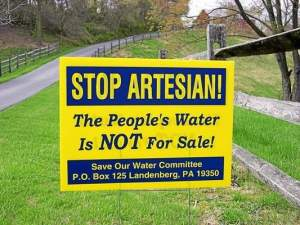 The Save Our Water Committee is fighting to protect the wells and water in the area of New Garden, Franklin and London Britain townships. (Marion Waggoner)
