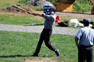 Both hurlers for Brandywine, Muhl and Achy Pete, played strong games to help contribute to the close wins over Diamond State Sept. 20. (Candice Monhollan)