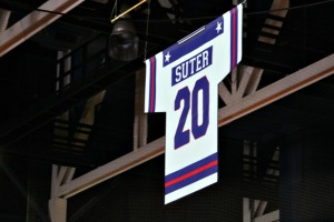 Bob Suter, the first member of the 1980 U.S. Olympic hockey team to pass away, was honored Saturday night during a special 35th anniversary ceremony of the U.S.-Soviet Union game in Lake Placid, N.Y. (Candice Monhollan)