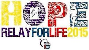 This year's slogan for Relay For Life is 'Hope.' (American Cancer Society)