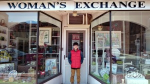 Louie Fozard, 13, has been volunteering at the Women's Exchange in West Chester since he was 8 years old. (Miranda Fozard)