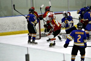 West Chester East stayed atop of the Ches-Mont with an 8-1 win over Downingtown West Friday night. (Candice Monhollan)