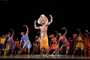 "Simba, as played by Jelani Remy, in Disney's ""The Lion King,"" playing at the Academy of Music in Philadelphia until June 14. (Joan Marcus)"