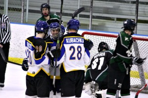 Downingtown East's 6-0 shutout of Pennridge Monday night secures the Cougars a spot in the first round of the Flyers Cup AA tournament. (Candice Monhollan)