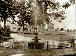 Friends of Marshall Square Park are in the process of restoring the original five-tier fountain which once was there. They hope it will be finished by late September or early October. (Friends of Marshall Square Park)
